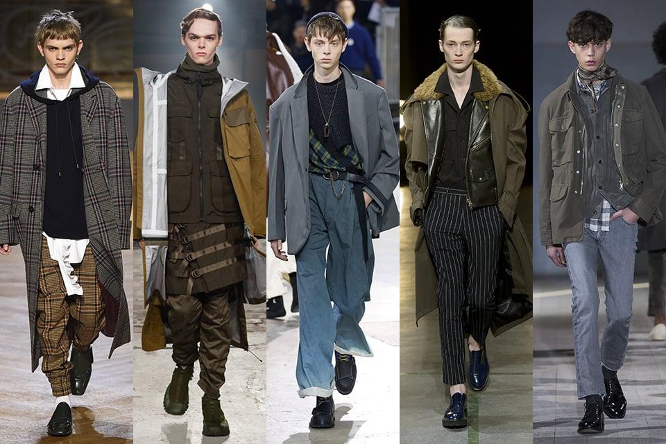 tendance layering paris fashion week
