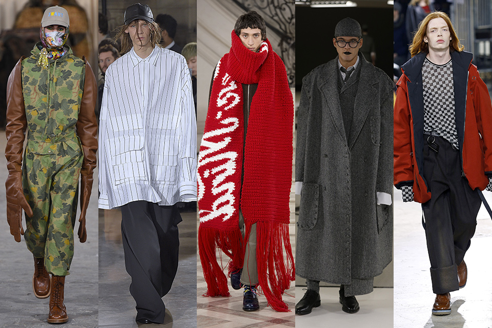 tendance xxl oversize fashion week