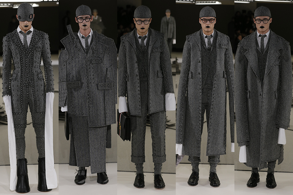 thom browne paris fashion week fall winter 17 18
