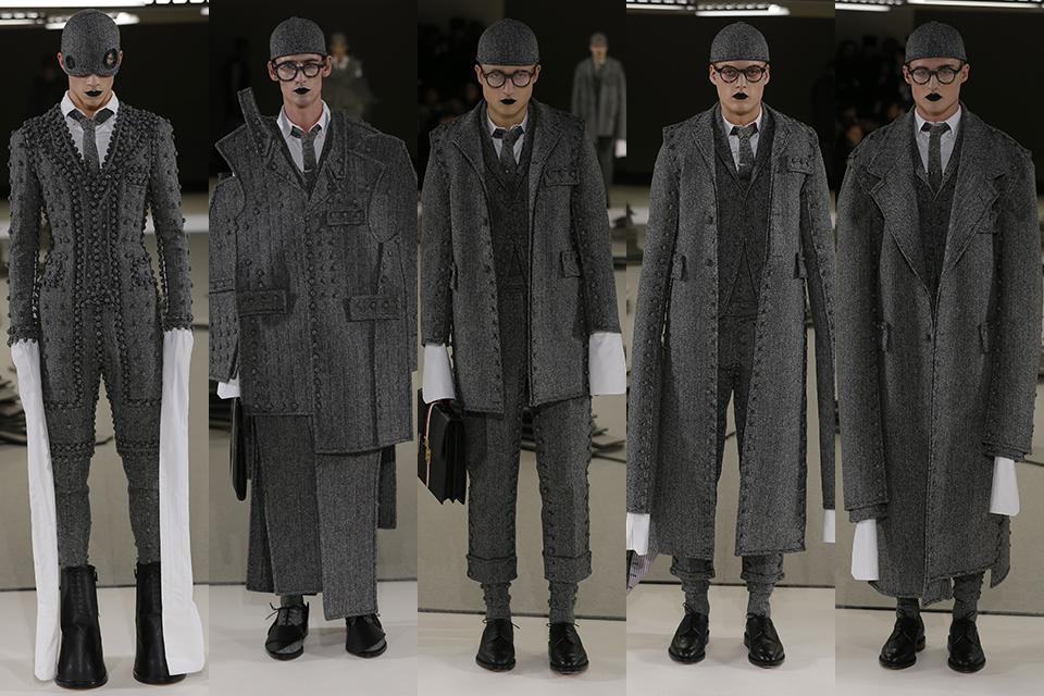thom browne paris fashion week fall winter 17 18