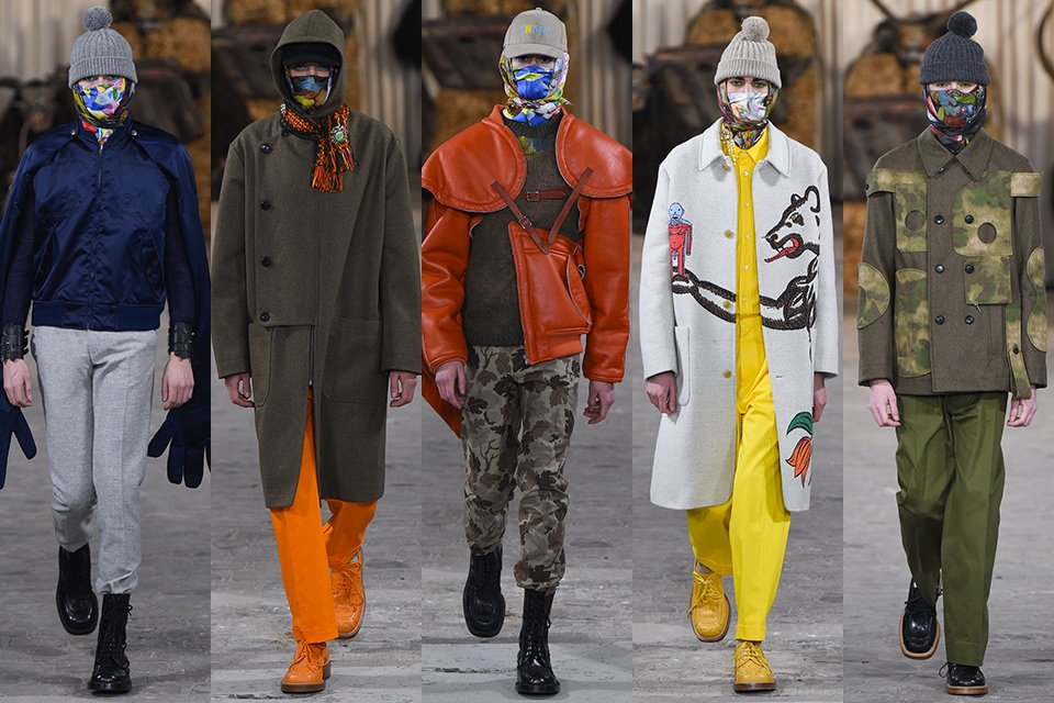 walter van beirendonck paris fashion week fall winter 17 18