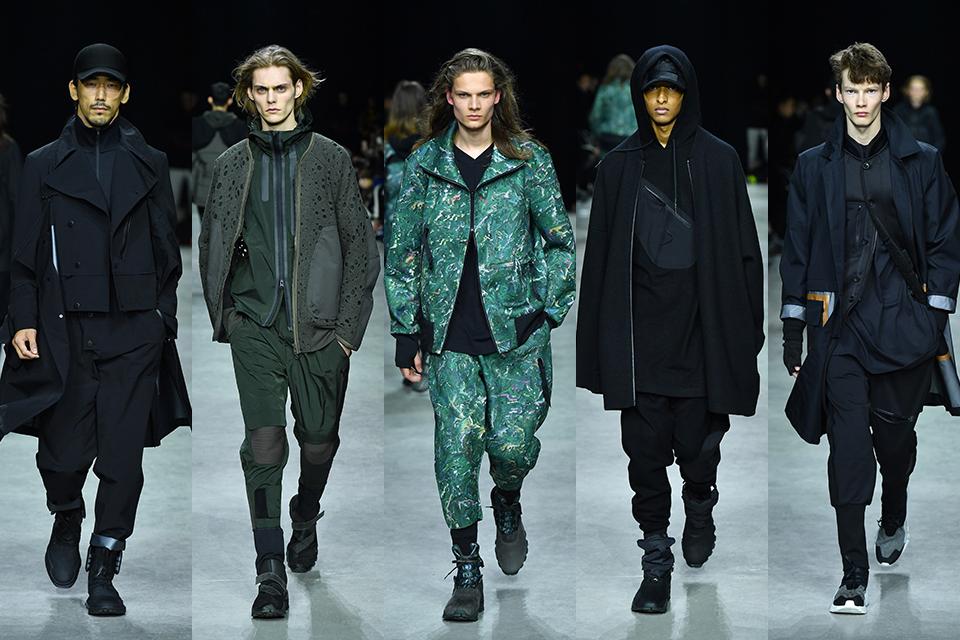 y 3 adidas paris fashion week fall winter 17 18