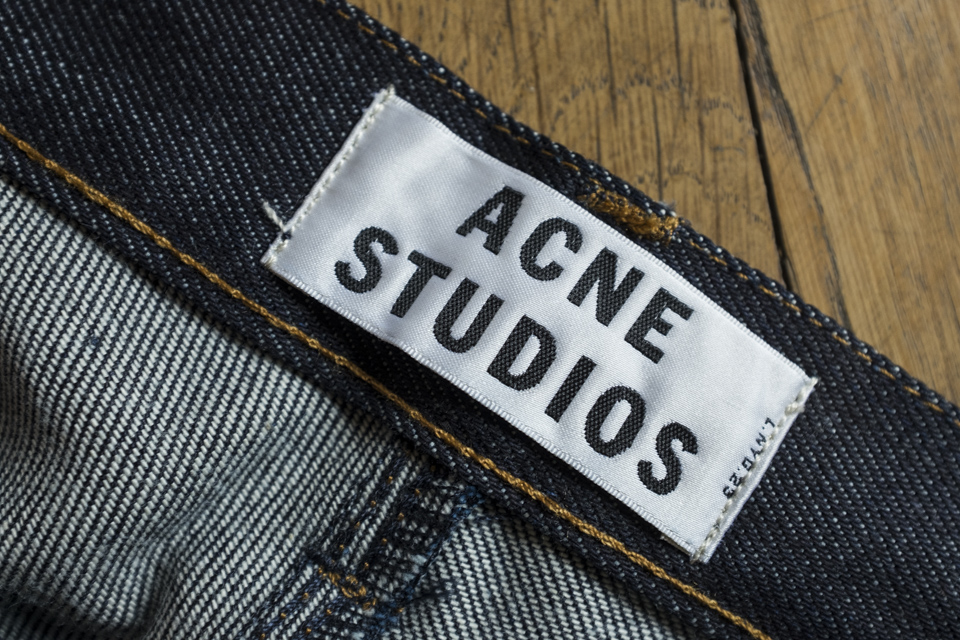 acne marque jeans suedoise