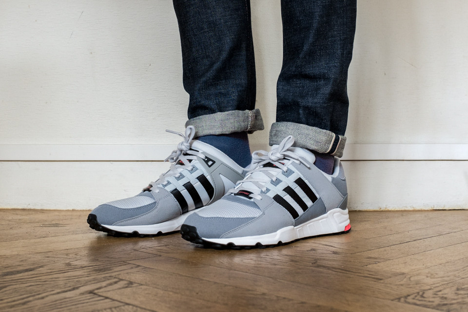 Adidas Eqt Support 93/17 White Core Black Turbo Red 93 17 Klekt