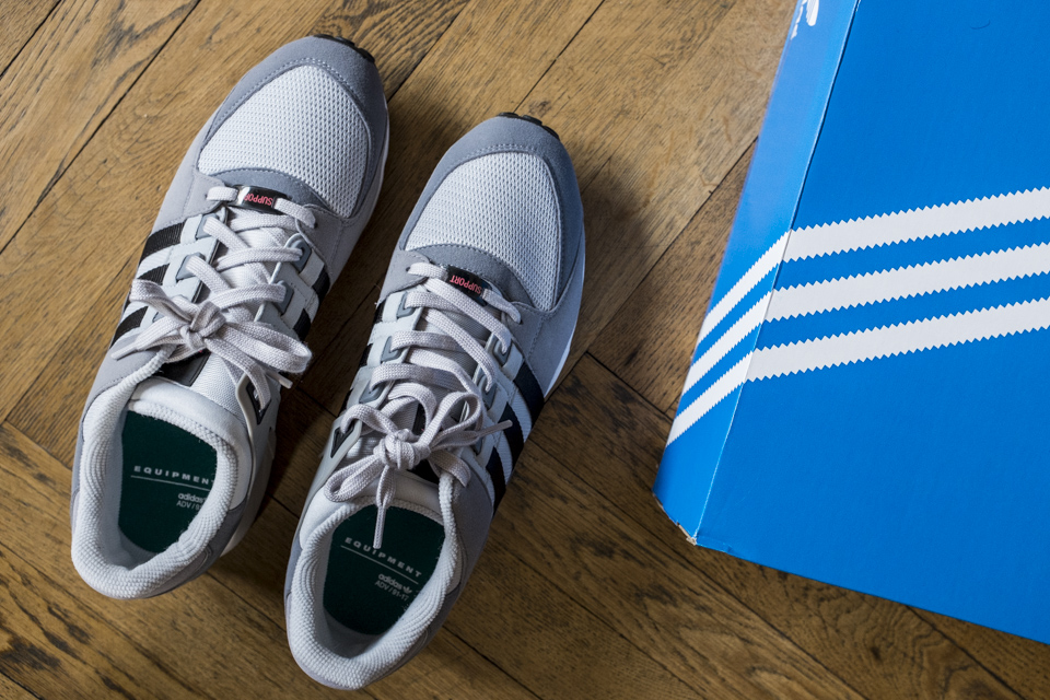 adidas eqt support rf unboxing
