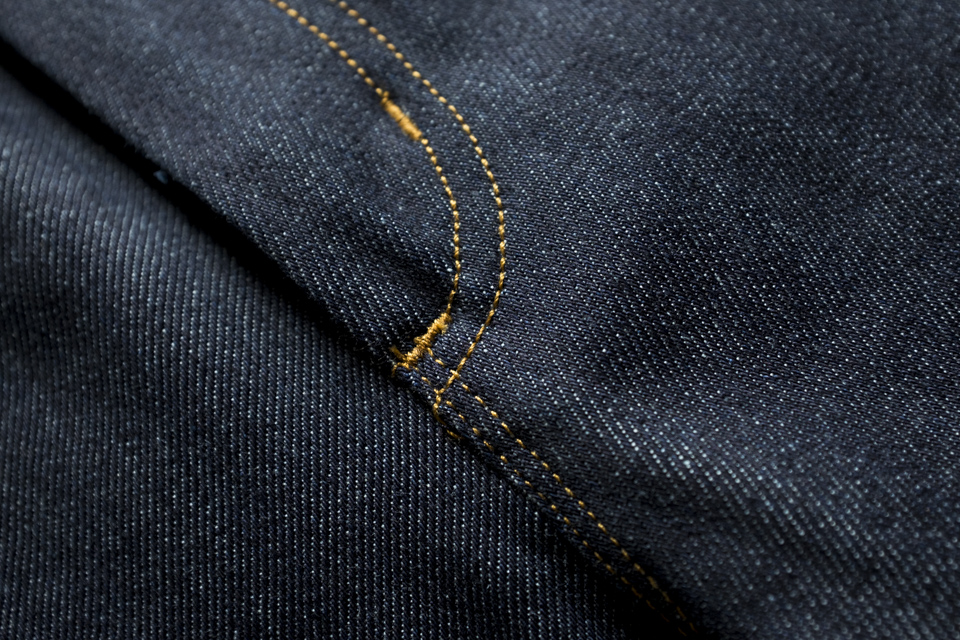 coutures jeans acne