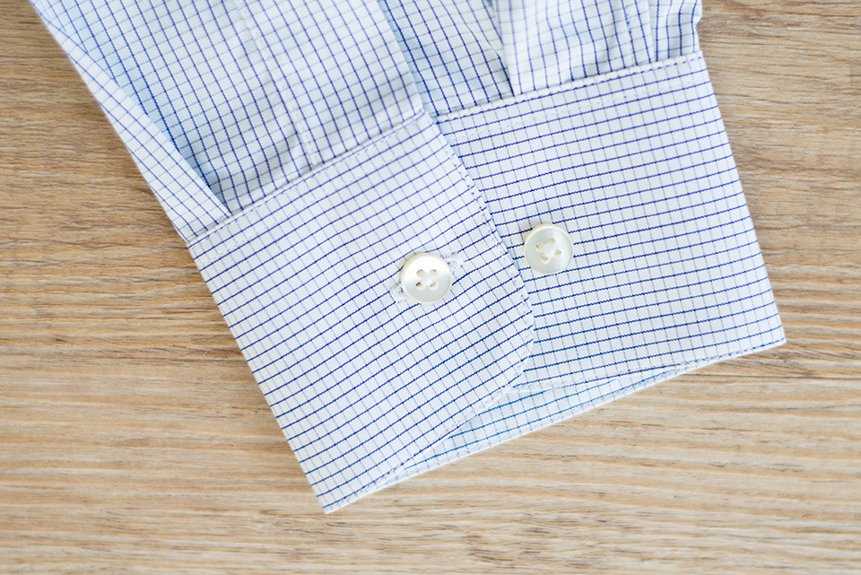 Giotho Chemise Carreaux Detail Manches
