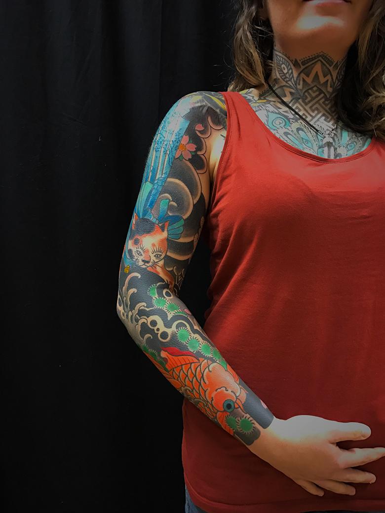 Jacky Fat Line Tattoo Club