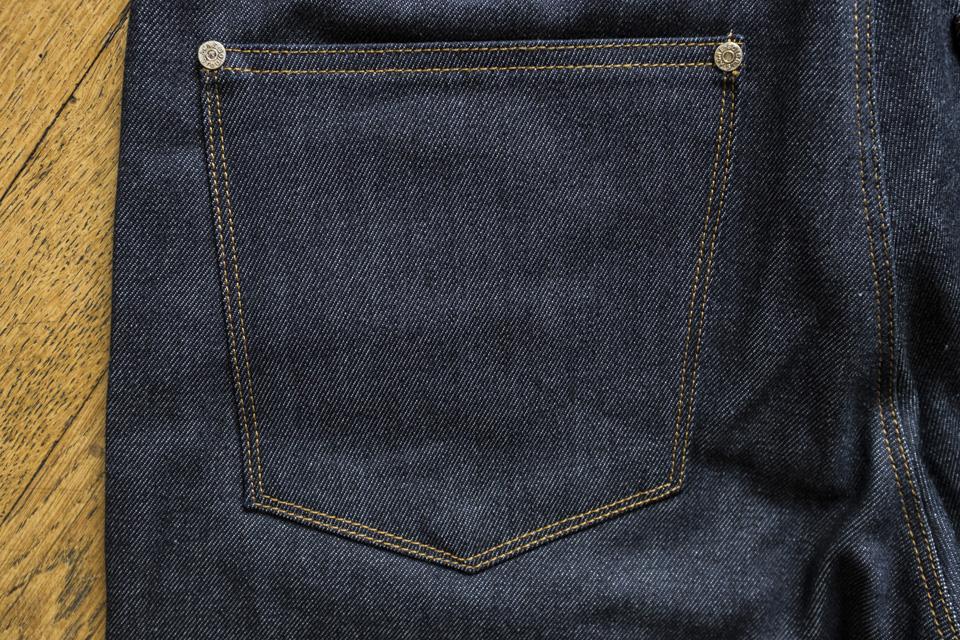 jeans acne max raw poche