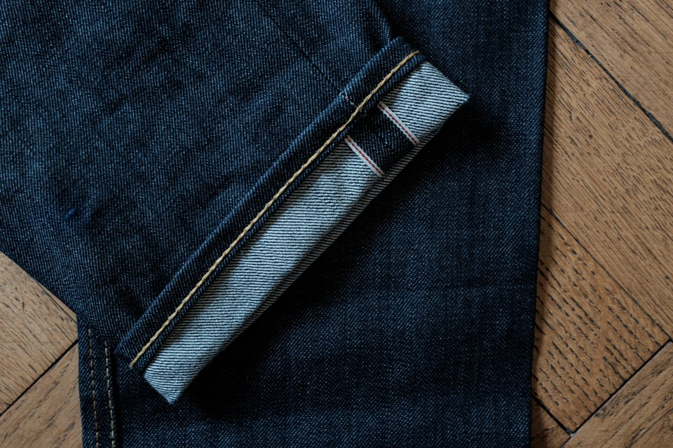 jeans champs de manoeuvre selvedge homme