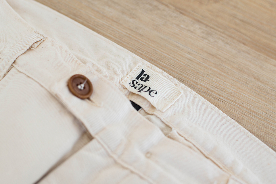 Pantalon Lasape Etiquette Biais