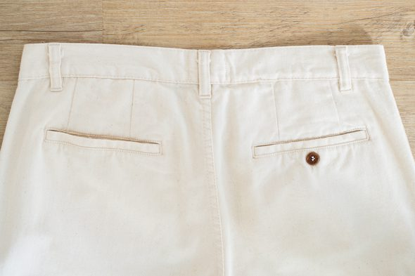 Pantalon Lasape Poches Arrieres