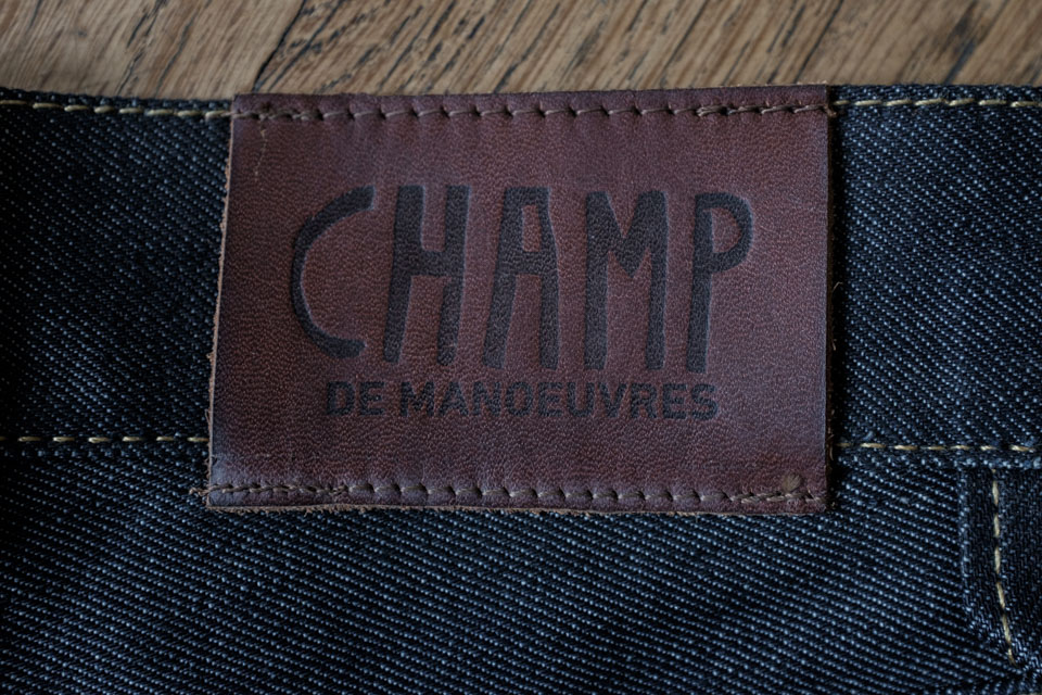patch cuir champ de manoeuvres
