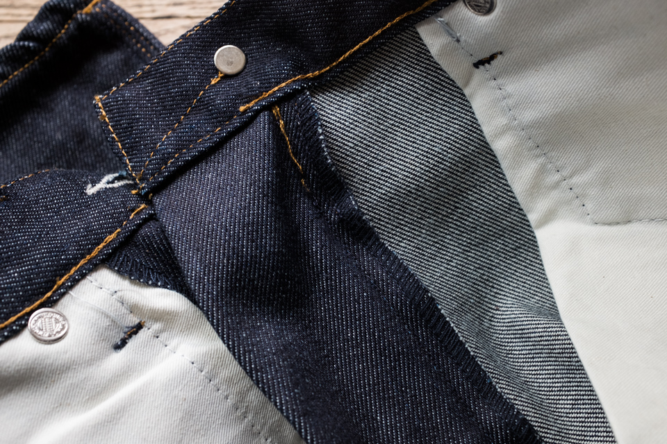 point chainette jeans acne