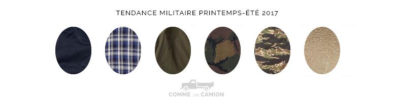 tendance militaire ss17 motifs