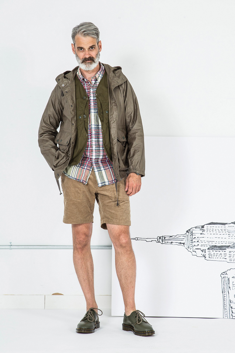 tendance randonneur militaire ss17 engineered garments