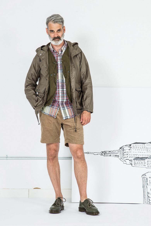 tendance randonneur militaire ss17 engineered garments