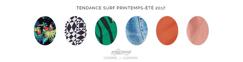 tendance surf printemps ete 2017 motifs
