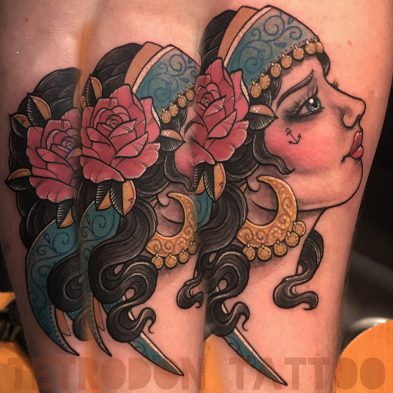 Tetrodon Tattoo Toni Lou