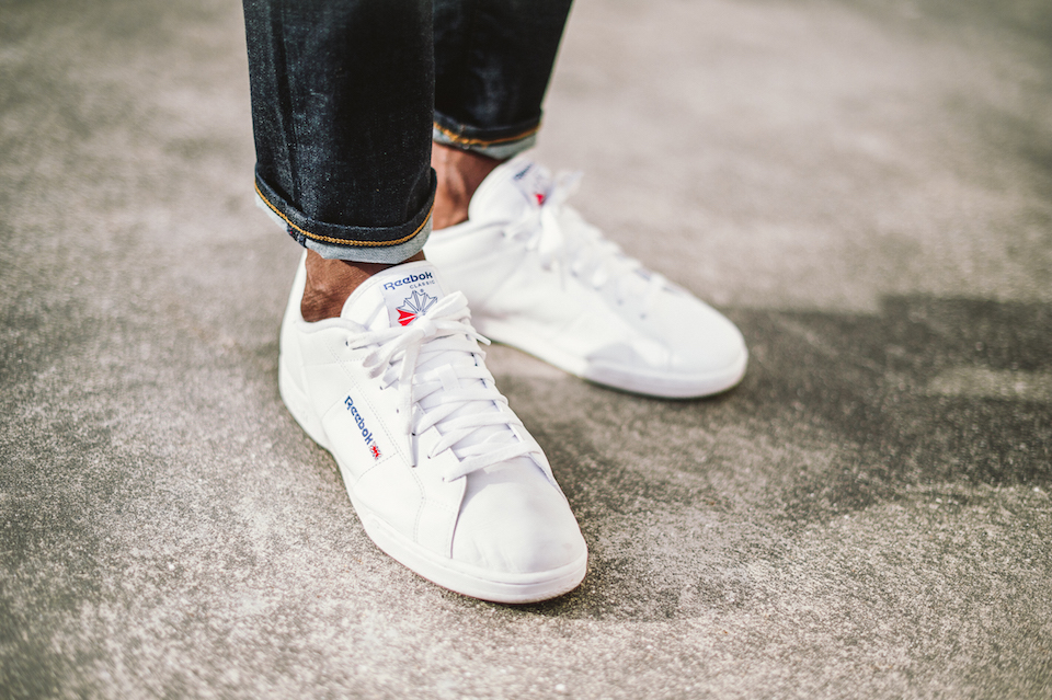 BASKET BLANCHES HOMME SNEAKERS REEBOK