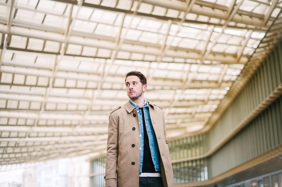 Superposition Forum des Halles Canopéé Trench Ly Adams veste en jeans Edition MR