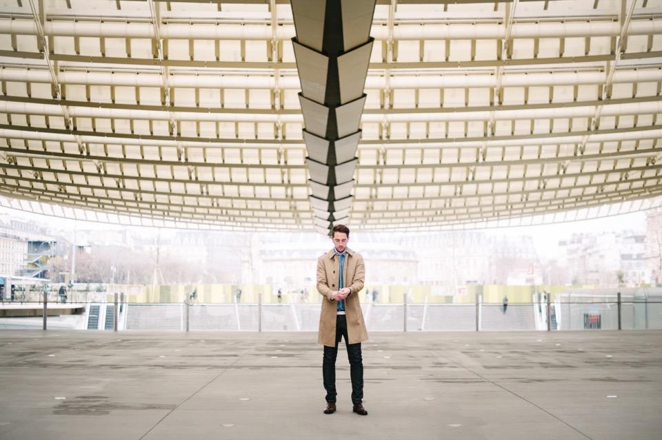 Superposition Forum des Halles Canopéé