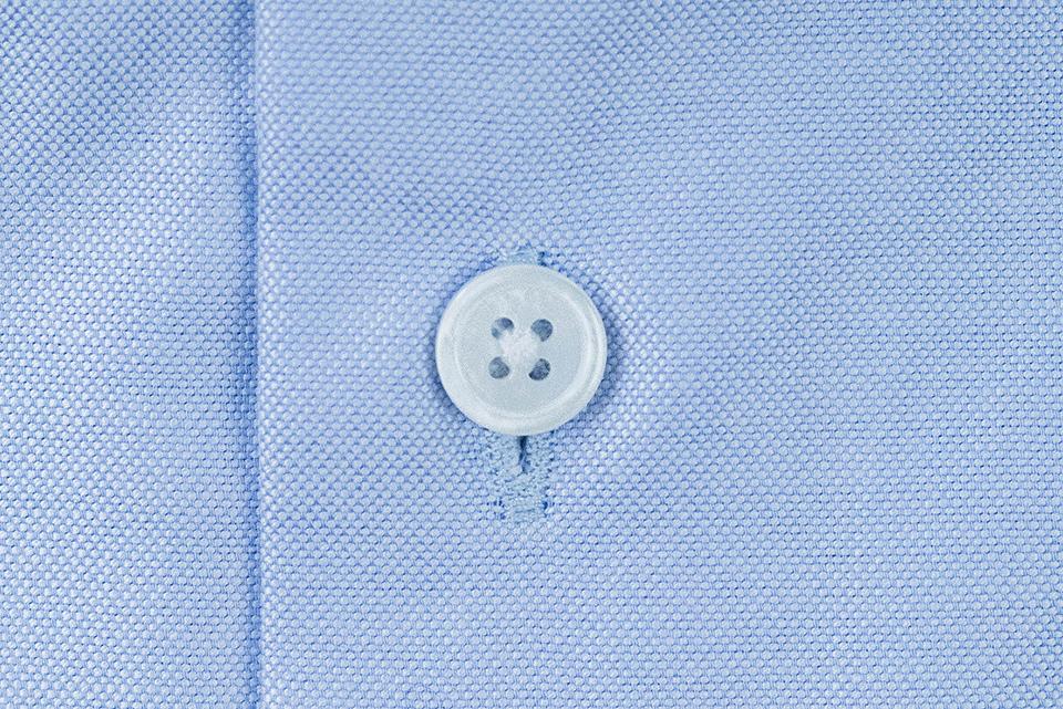 Benklark Chemise Oxford Bleue Bouton