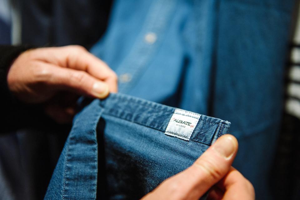 chemise en jean homme brummell