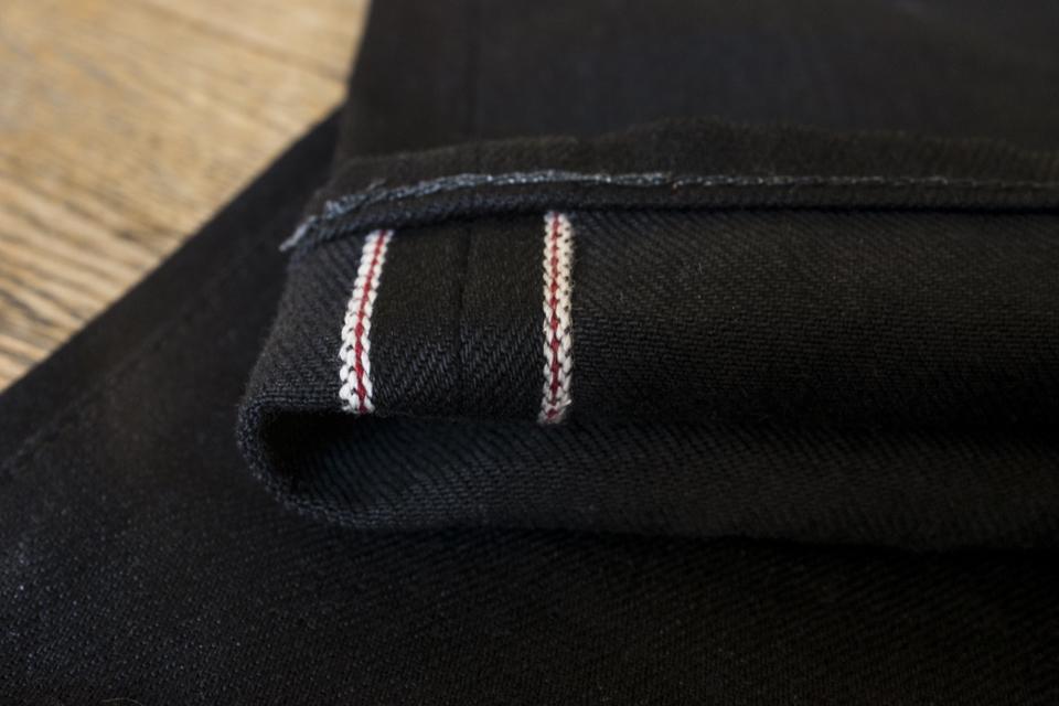 double black selvedge jeans