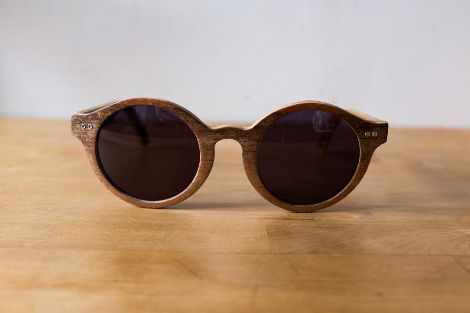 lunettes soleil bois wood light