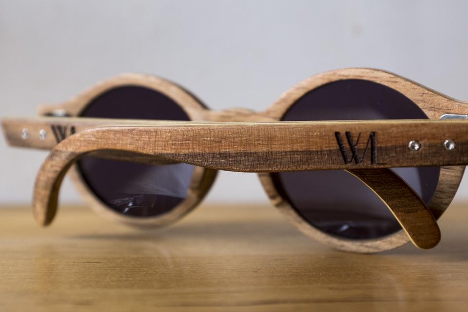 lunettes wood light bois
