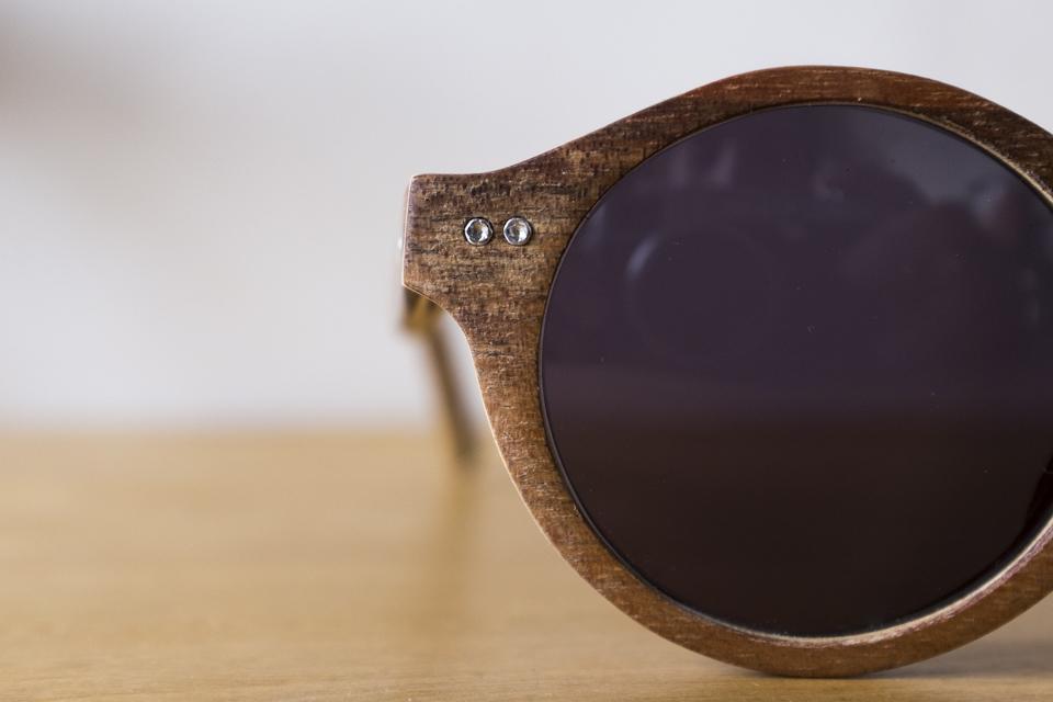 lunettes wood light monture bois
