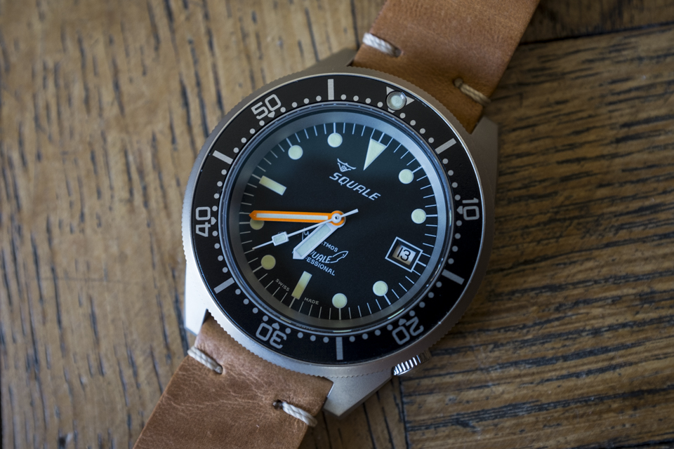 montre squale atmos 50 test