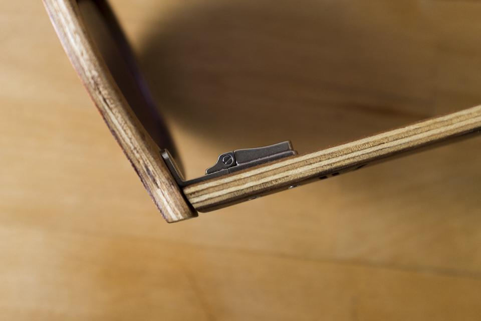 multi plis lunettes bois wood light