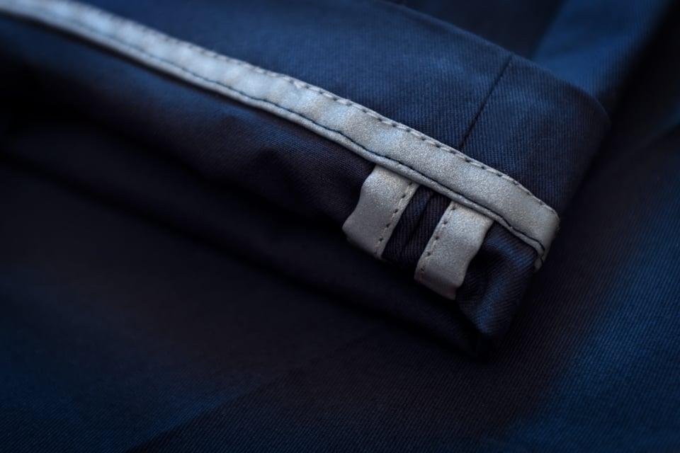 ourlet reflechissant pantalon velo
