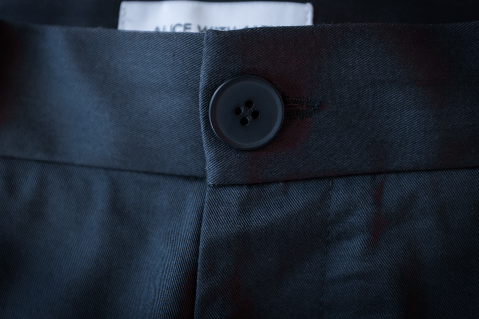 pantalon alice with alex bouton