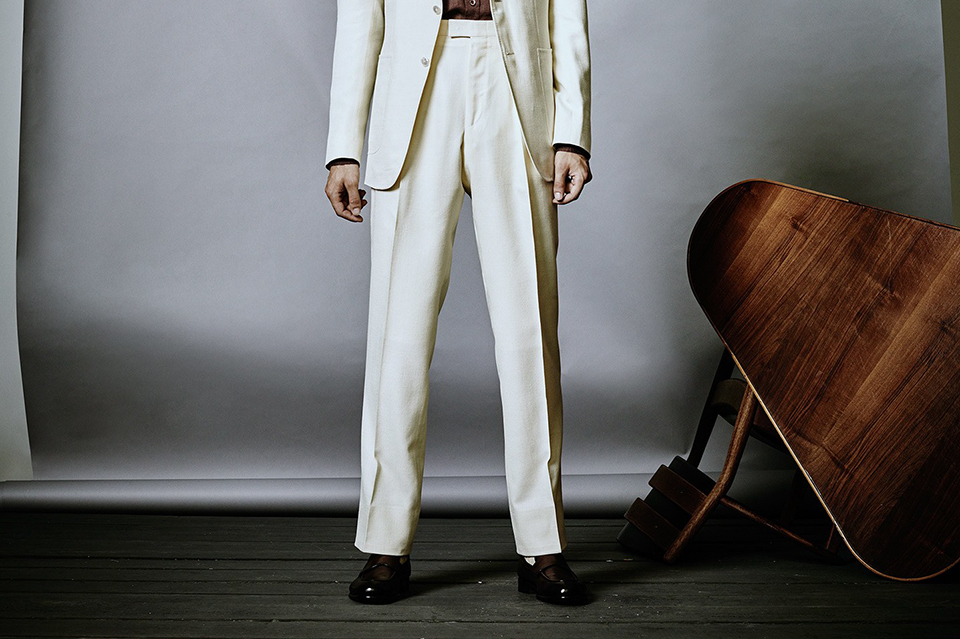 pantalon cuba blanc
