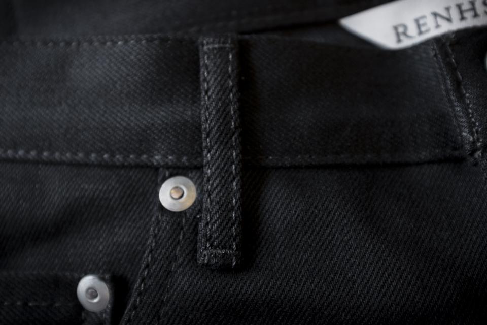 passant ceinture rivet jeans renhsen