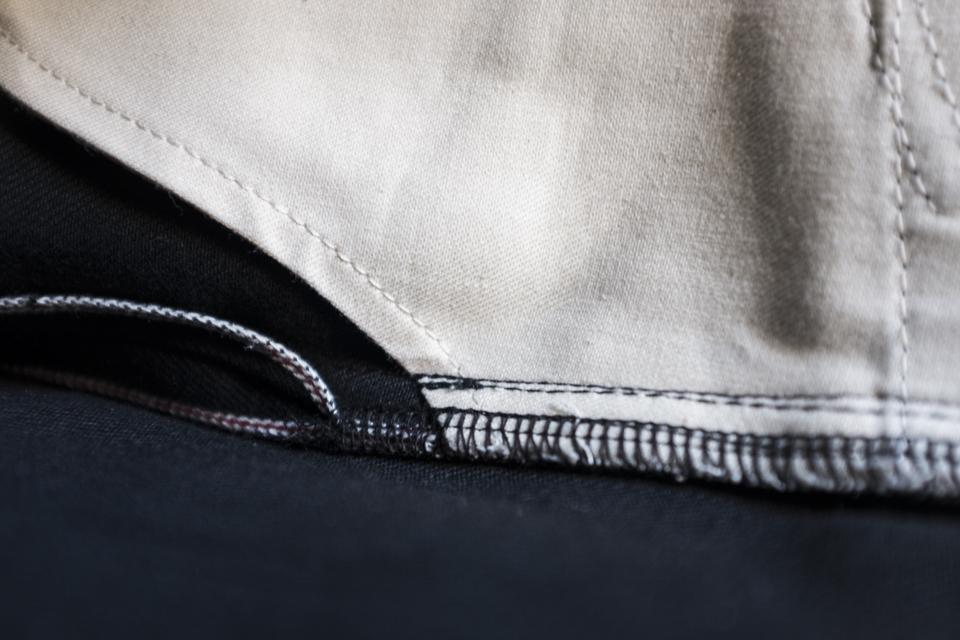 poches interieur jeans renhsen selvedge