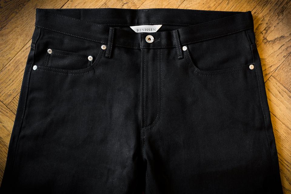 renhsen louis jeans double black