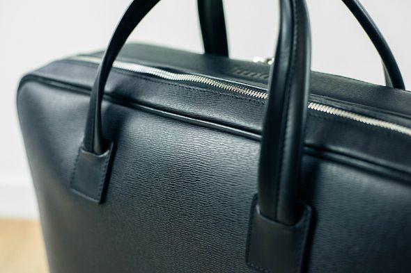 sac lundi 36H noir texture