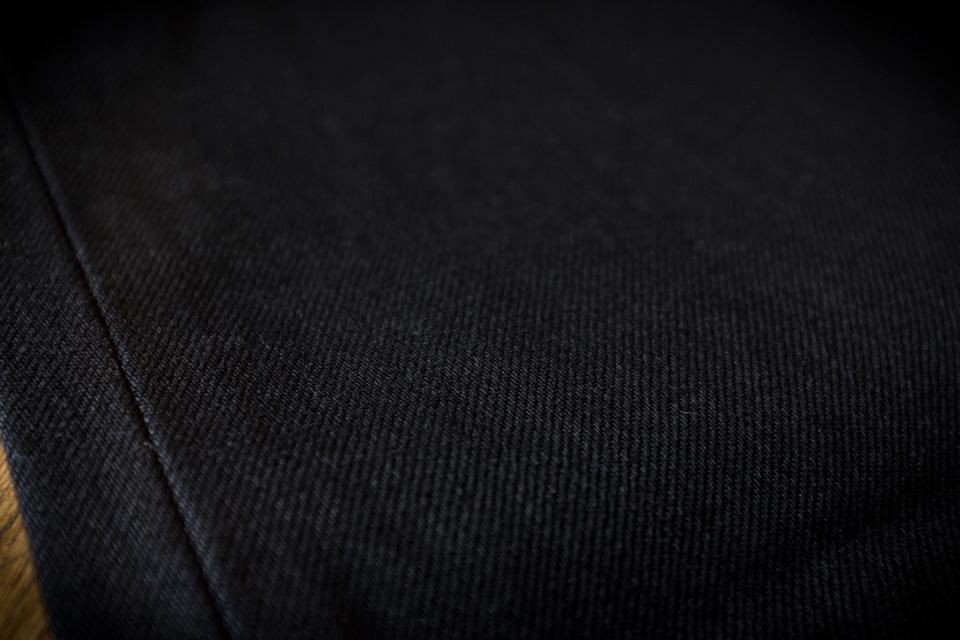 tissu denim double black renhsen