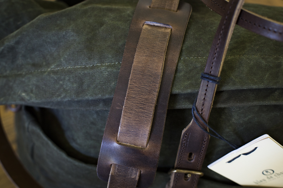 bandouliere sac bleu de chauffe cabine