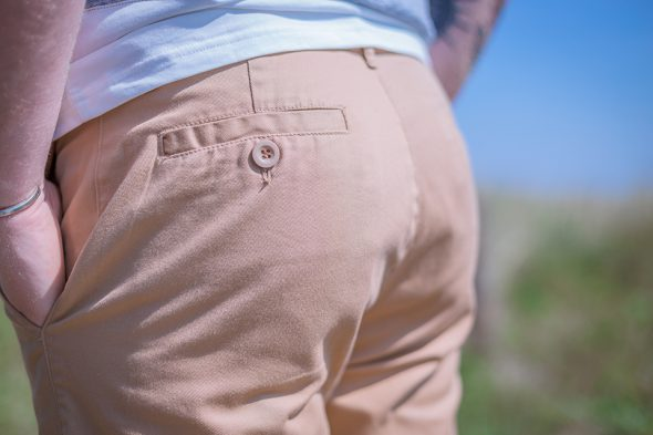 Bask In The Sun Short Porte Fesses Close