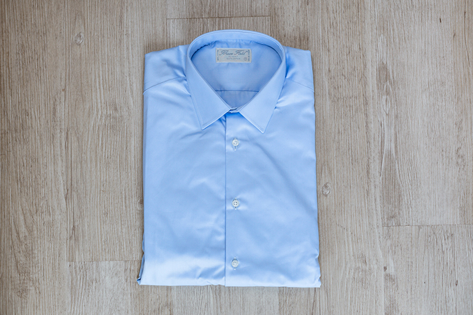Bruce Field Chemise Pliee Cadree