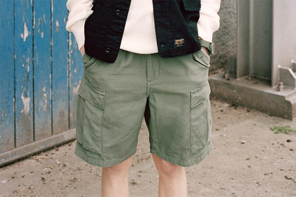 carhartt ss17 cargo shorts