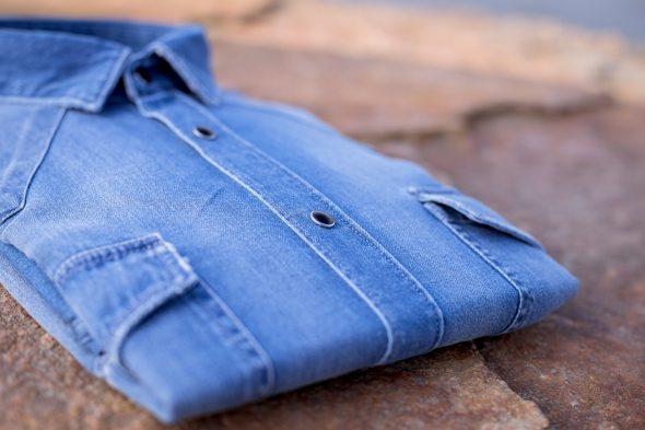 Cg Printemps Chemises Atelier Prive Western Brut Bouton