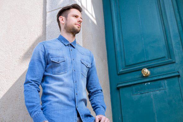Cg Printemps Chemises Atelier Prive Western Brut Portee Ambiance