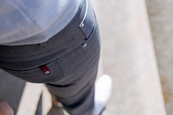 Cg Printemps Jeans Dnm Gris Porte Details