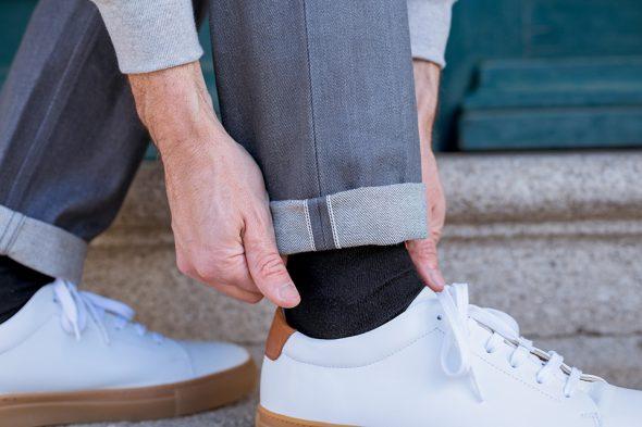 Cg Printemps Jeans Dnm Gris Porte Revers